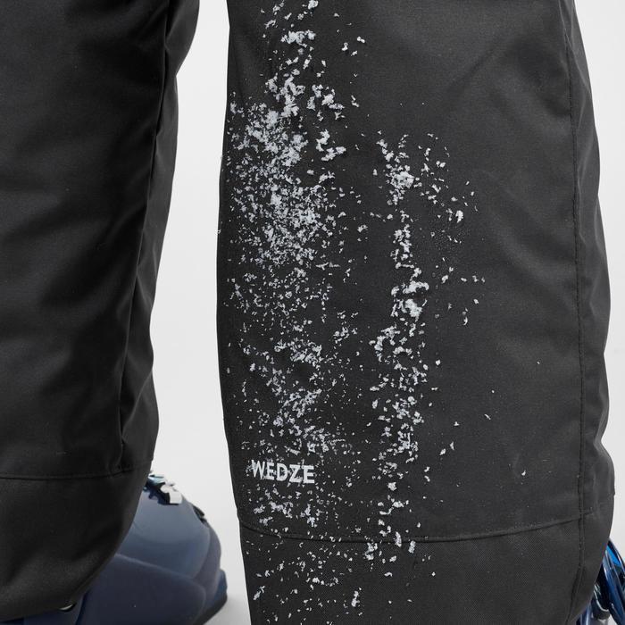 兒童滑雪長褲100 - 深灰