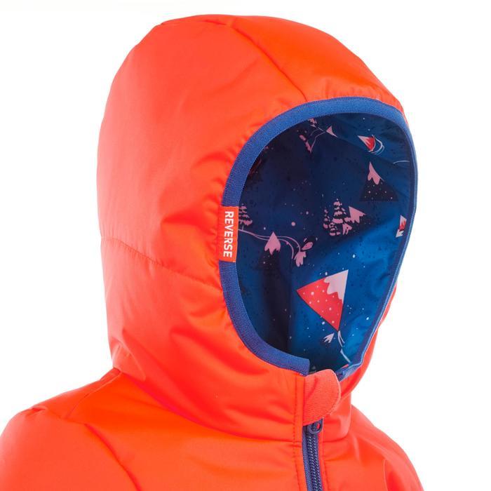 Veste de ski / luge bébé WARM reverse orange