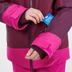 Ski-jas voor kinderen 500 pruimpaars