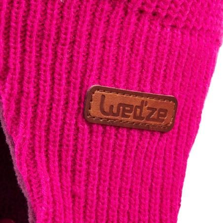 Gorro de esquí / trineo bebé warm rosa