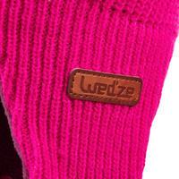 Tuque de ski Luge chaude rose - Bébé