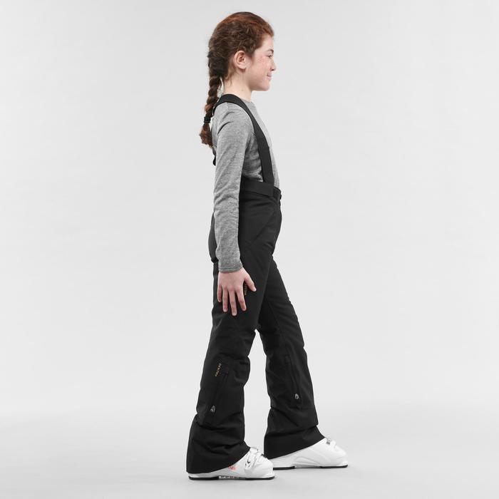 Skibroek voor kinderen PNF 900 zwart