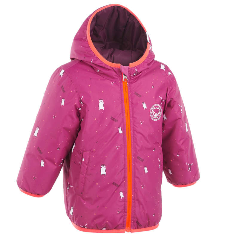 BABY SLEDGE EQUIPMENT Clothing - BB Sledging Jacket Warm RVS WEDZE - Coats and Jackets