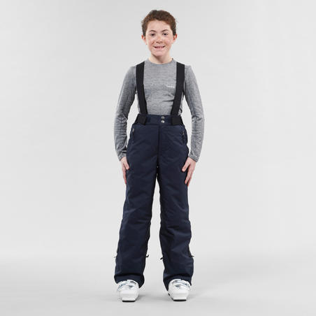 CHILDREN'S SKI TROUSERS PNF 500 - NAVY