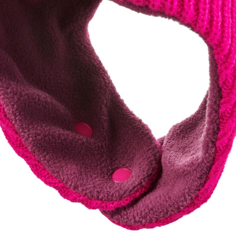Gorro de Ski/Trineo Bebés Warm Rosa