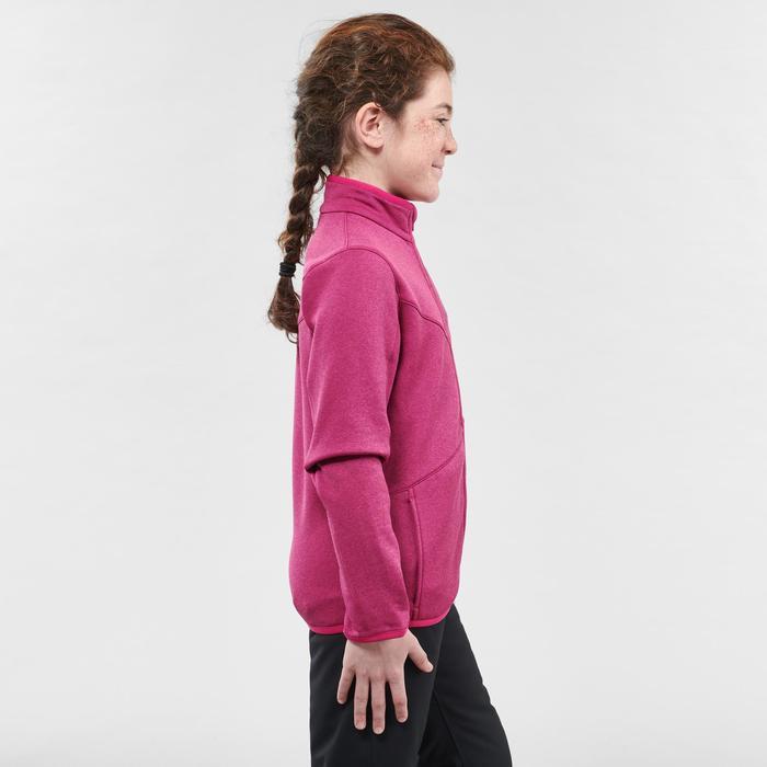 Unterziehjacke Ski 900 Kinder rosa