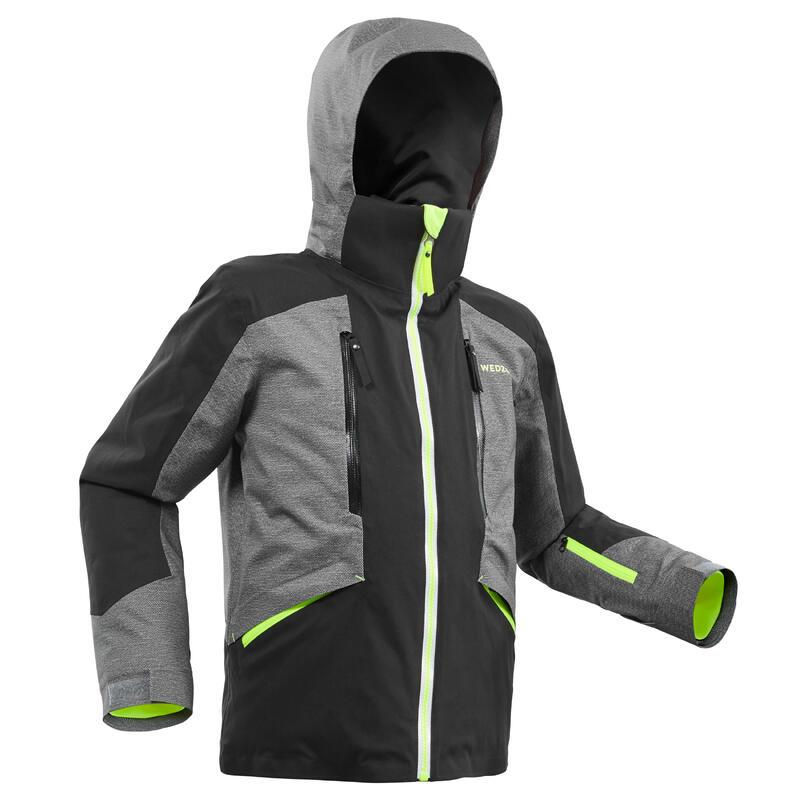 Children's Ski Jacket - Grey and Black
