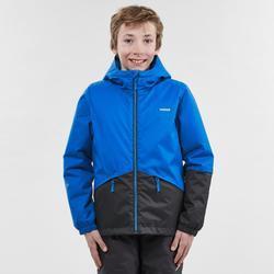 Abrigo Chaqueta Esquí y Nieve Wed'ze 100 Niños Azul