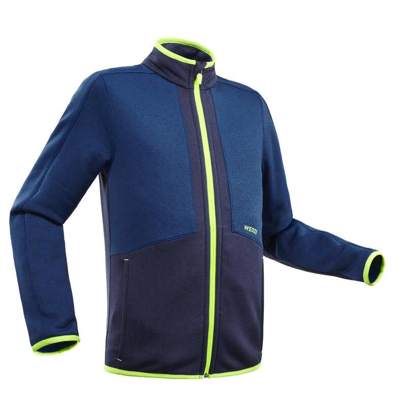 CHLAPECKÉ OBLEČENÍ NA LYŽOVÁNÍ (ZKUŠENÍ) Lyžování - DĚTSKÁ SPODNÍ BUNDA 900  WEDZE - Lyžařské oblečení a doplňky