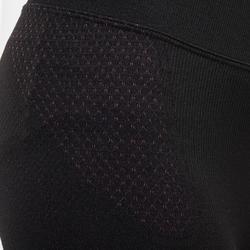 兒童滑雪底層褲580 I-Soft - 黑色/粉色