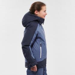 Ski-jas voor kinderen 500 blauw