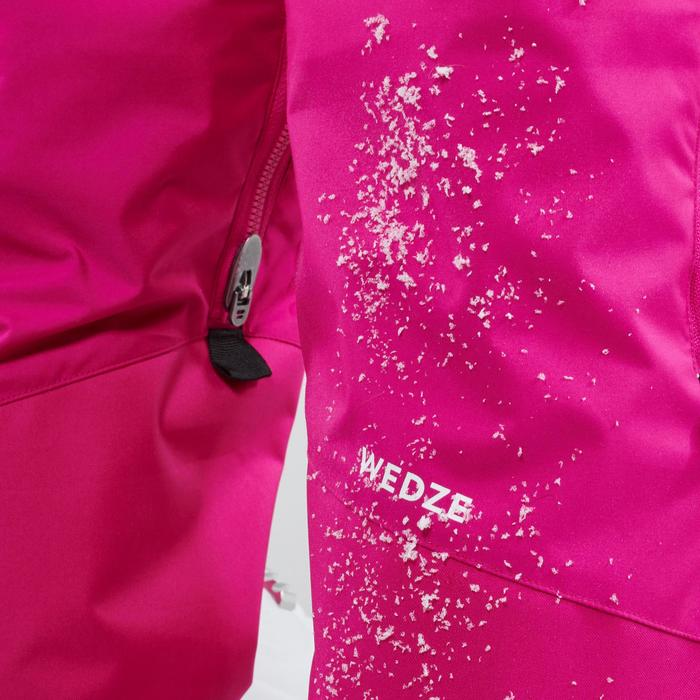 CHILDREN'S SKI TROUSERS PNF 500 - PINK