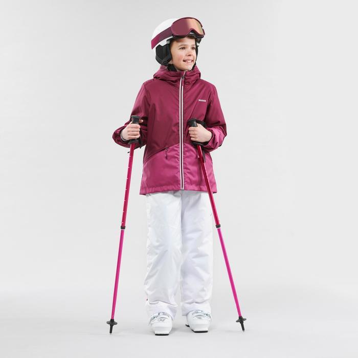 Skibroek voor kinderen 100 wit