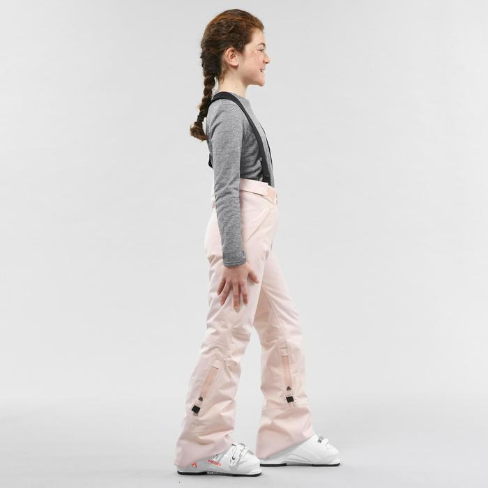 CHILDREN'S SKI TROUSERS PNF 900 - POWDER PINK