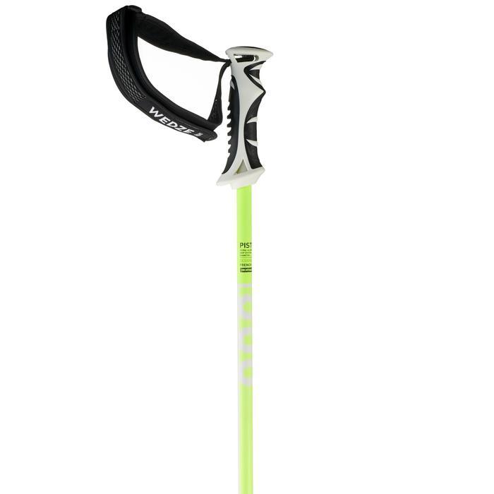 Skistokken voor pisteskiën dames Boost 900 wit/geel