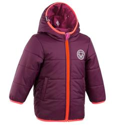 Babies' Skiing/Sledging Reversible Jacket Warm - Purple