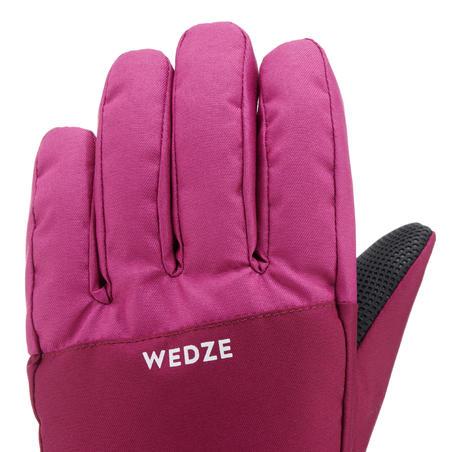 Sarung Tangan Ski Anak 100 - Pink