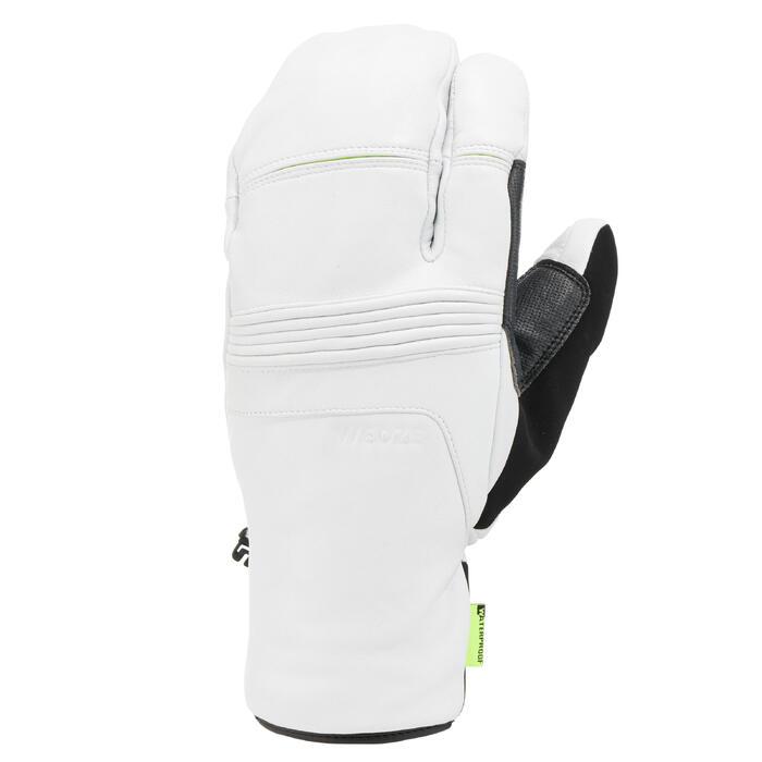 Skihandschoenen voor volwassenen Lobster 900 wit