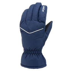 ADULT SKI GLOVES 100 - BLUE
