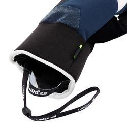Skihandschoenen voor kinderen 900 marineblauw