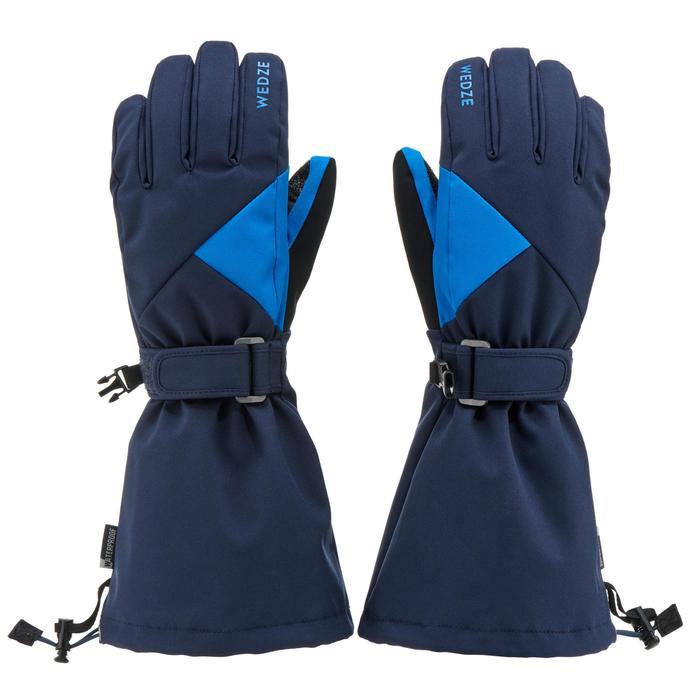Skihandschoenen voor kinderen 550 marineblauw