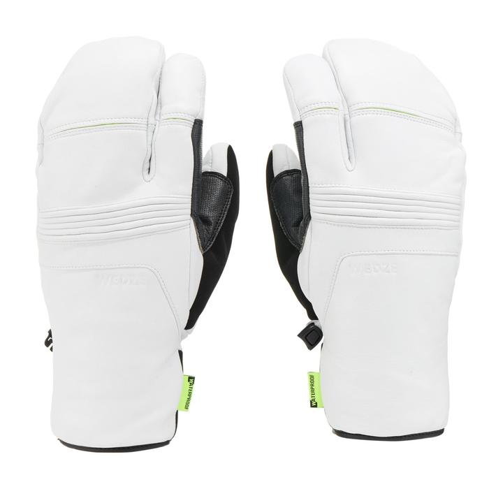 GANTS DE SKI DE PISTE ADULTE LOBSTER 900 BLANCS