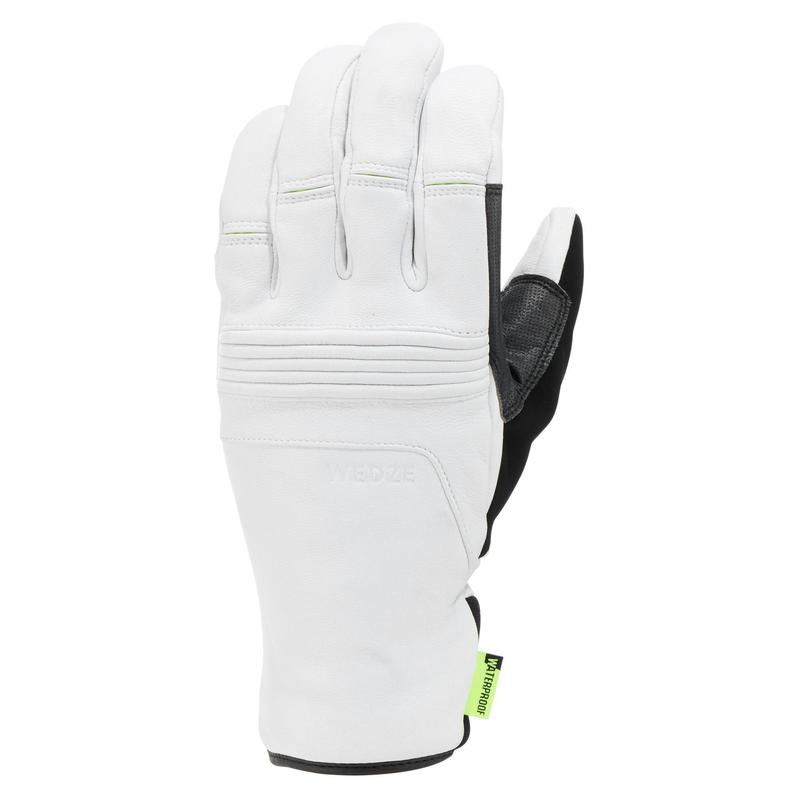 Adults' D-Ski Gloves - White