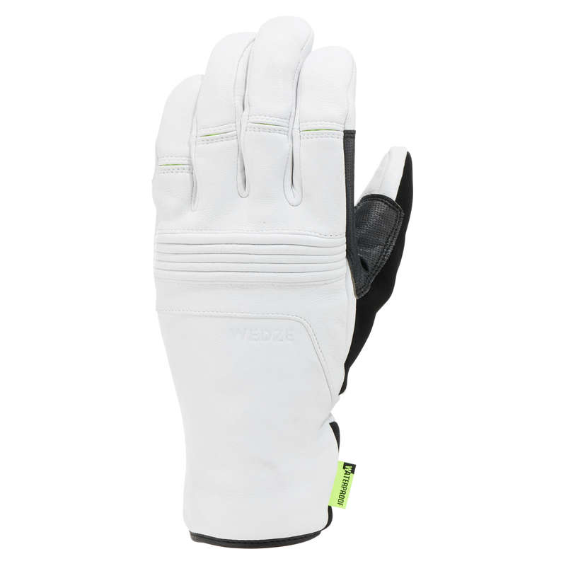 GUANTI SCI ADULTO Sci, Sport Invernali - Guanti sci 900 bianchi WEDZE - Abbigliamento sci donna