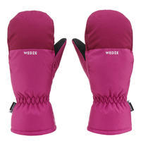Kids' Ski Mittens 100 - Purple