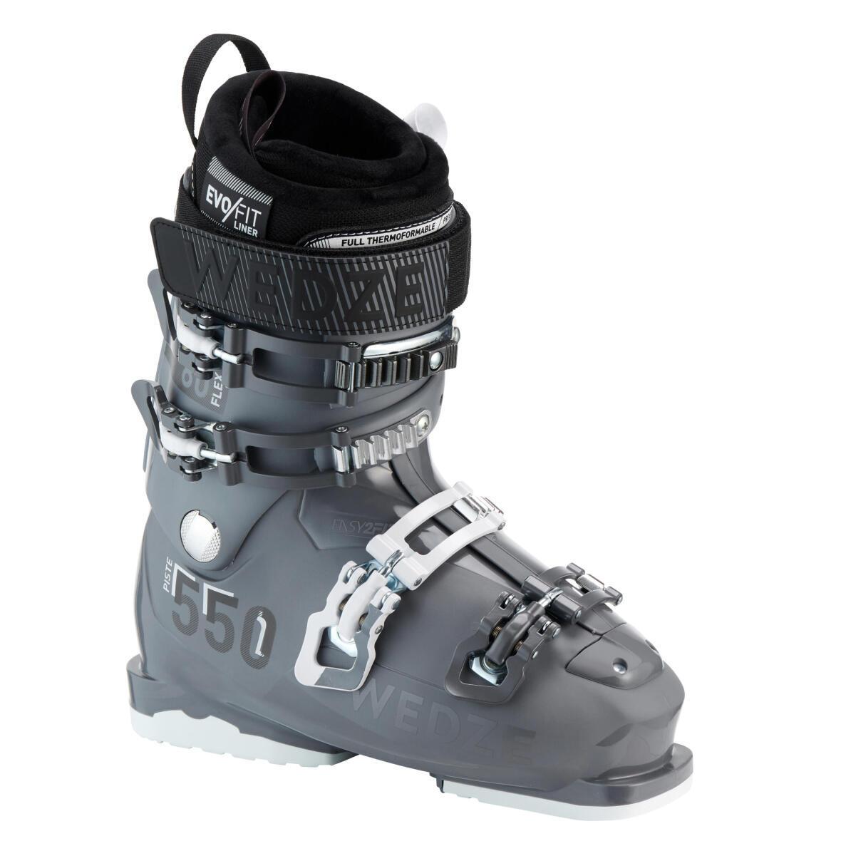 les bottes de ski alpin