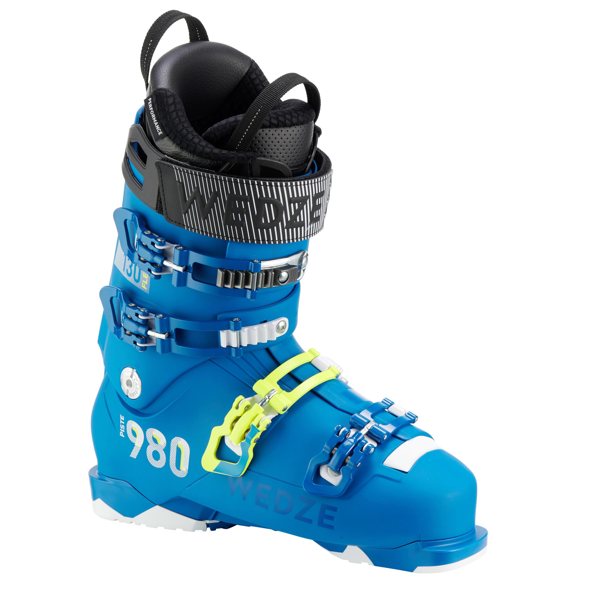 Botas Esqui Hombre Wedze Fit 980 Flex 130 Alpino Azul Wedze Black Friday Decathlon 2020
