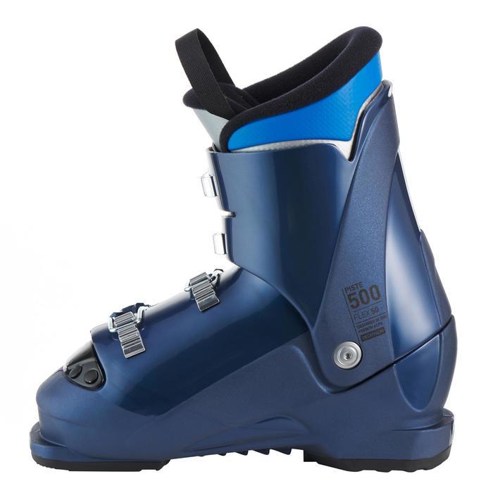 Skischoenen voor kinderen 500 blauw
