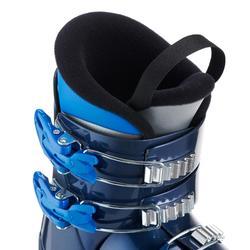 Skischuhe Piste 500 Kinder blau