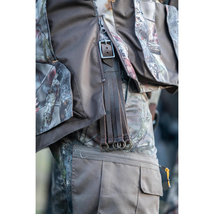 Ademende camouflagebroek voor de jacht 300 boscamouflage