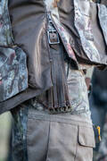 MASKOVACÍ OBLEČENÍ DO SUCHÉHO/DEŠTIVÉHO POČASÍ Myslivost a lovectví - KALHOTY RESPI 300 CAMO FORET SOLOGNAC - Myslivecké oblečení