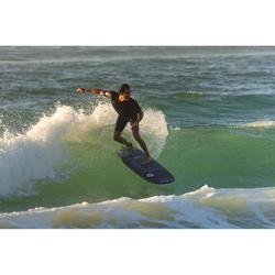Traje Neopreno Corto Surf Olaian Hombre Shorty 1,5 mm Azul Oscuro