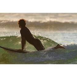 Combinaison Surf Shorty 100 Néoprène 1,5mm homme bleu marine