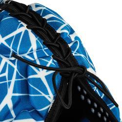 Casco Rugby Offload R500 adulto azul y blanco