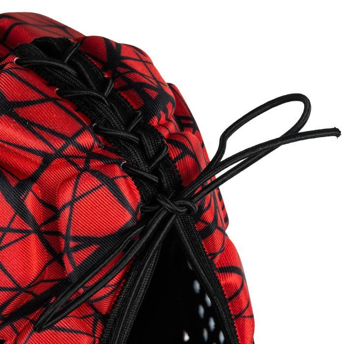 Scrumcap 500 volwassenen rood/zwart