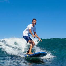"""Bañador Corto Surf Olaian Hendaia Hombre Azul 16"""""""