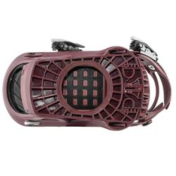 Men and women's freestyle bindings Endzone 500 - Burgundy