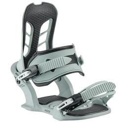 Men's snowboard bindings All Road 500 on-piste/off-piste green grey and black