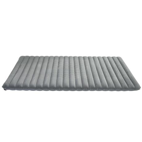 matelas gonflable de camping camp du randonneur air confort 120 2 pers gris quechua. Black Bedroom Furniture Sets. Home Design Ideas