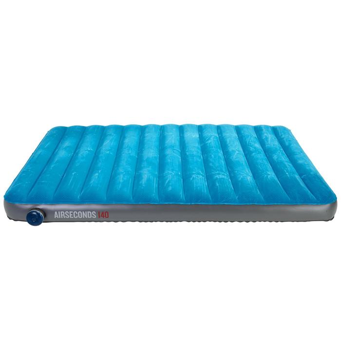 quechua matelas gonflable de camping air seconds 140 2 pers decathlon. Black Bedroom Furniture Sets. Home Design Ideas