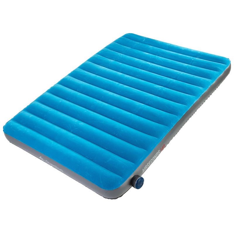 AIR SECONDS INFLATABLE CAMPING MATTRESS _PIPE_ 2-PERSON - WIDTH 140 CM
