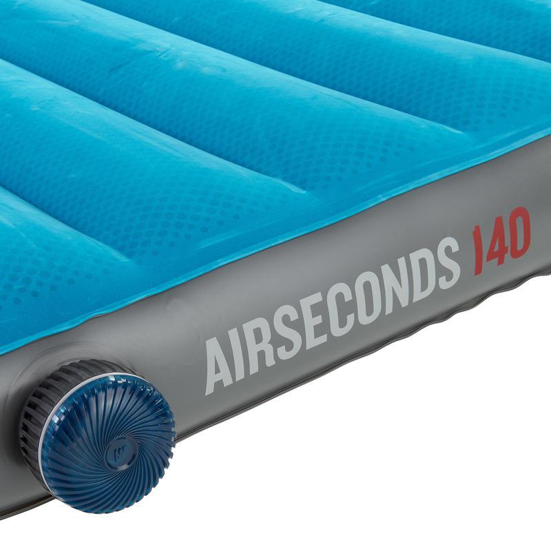 ที่นอนเป่าลมสำหรับ 2 คนใช้ในการตั้งแคมป์รุ่น AIR SECONDS ขนาด 140 ซม.