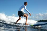 100 short surfing boardshorts Palm Mint