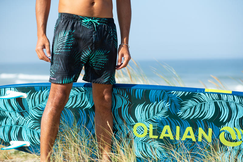 Surf boardshort court 100 Palm Mint