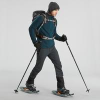 Men's Fleece Snow Hiking Jacket SH500 X-Warm - Blue Grey
