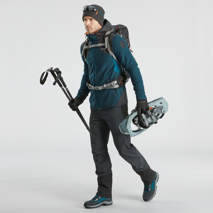 Veste polaire chaude de randonnée - SH500 X-WARM - homme.